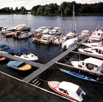 Kontakt Blumeshof, Bootslagerung Tegeler See, Bootsstände Tegeler See